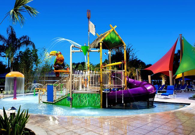 R Aqua Zone Water Park At Renaissance Orlando Seaworld