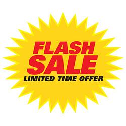 Flash Sale Burst Promo