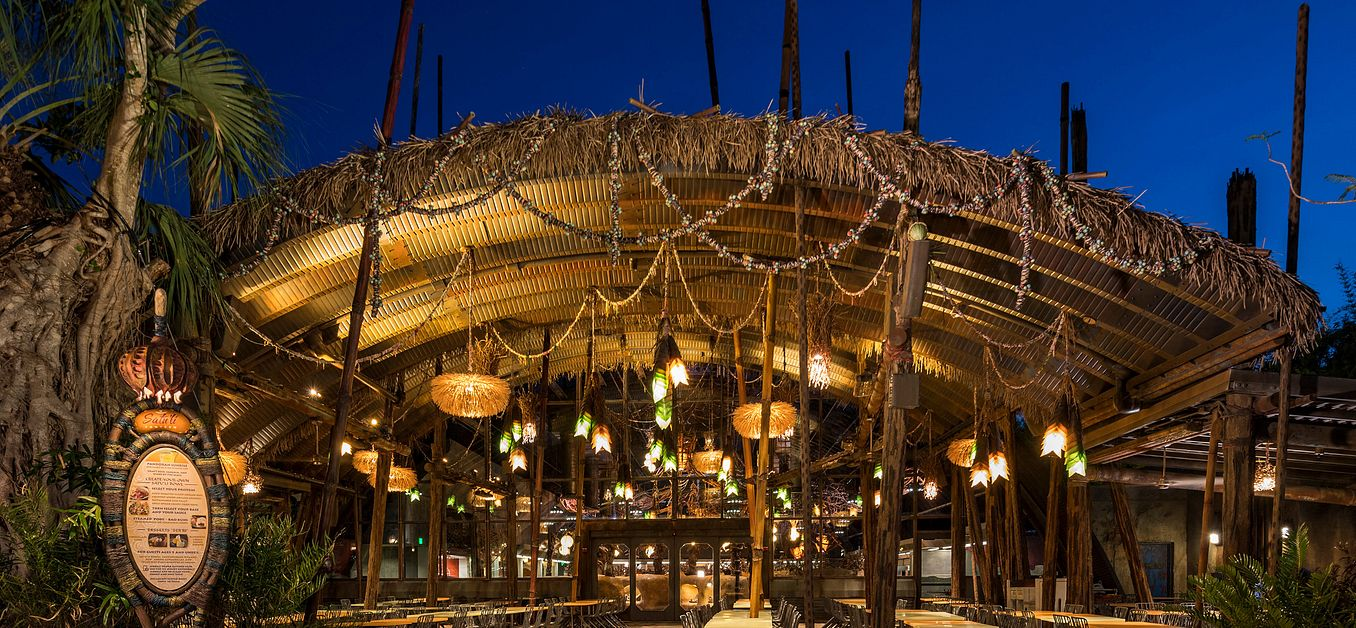 Satu'li Canteen at Disney's Animal Kingdom Theme Park