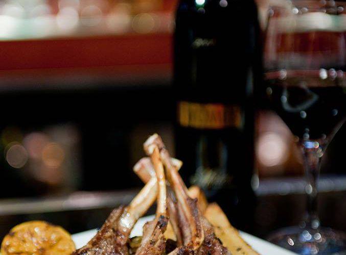 Lamb Chops at Taverna Opa in Orlando