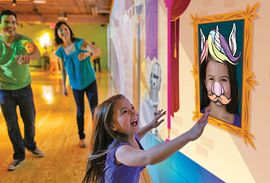 Discover the magic of color at Crayola Experience