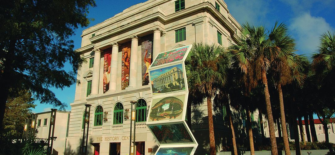 Orange County Regional History Center and Heritage Square Park in Downtown Orlando