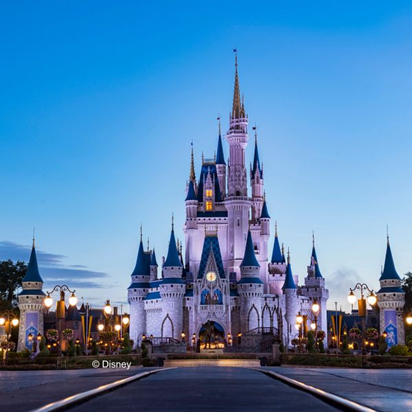 Cinderella's Castle in Magic Kingdom