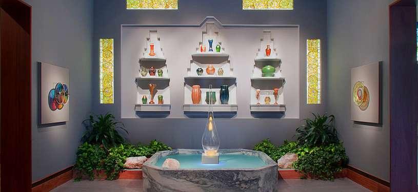 The Charles Hosmer Morse Museum of American Art Laurelton Hall fountain