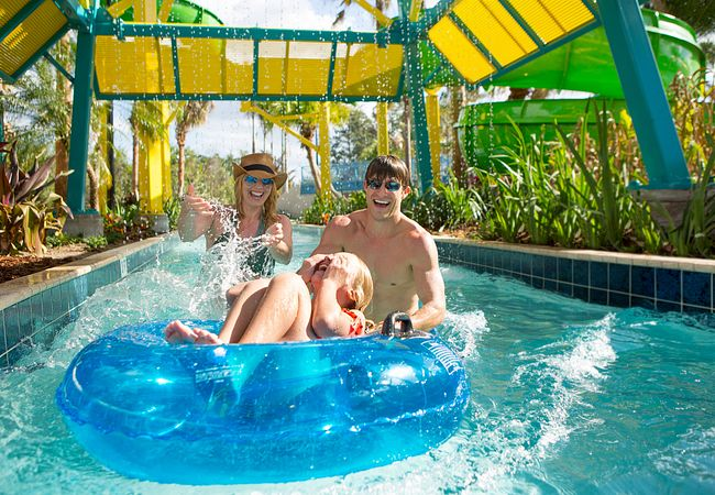 Lazy River at The Grove Resort & Spa in Orlando