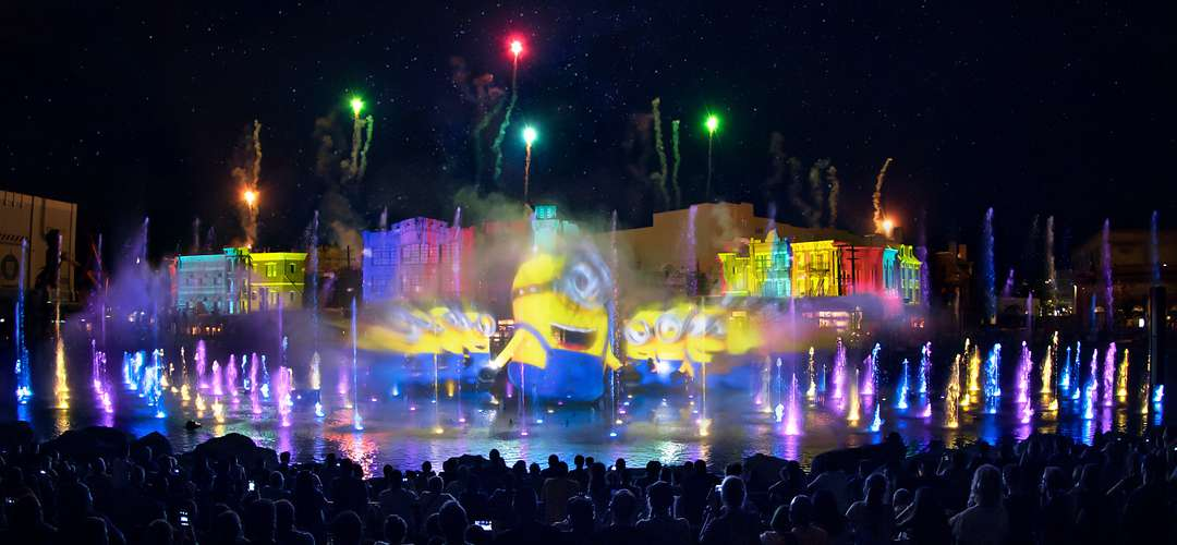 Minion's performance during the Universal Orlando's Cinematic Celebration show