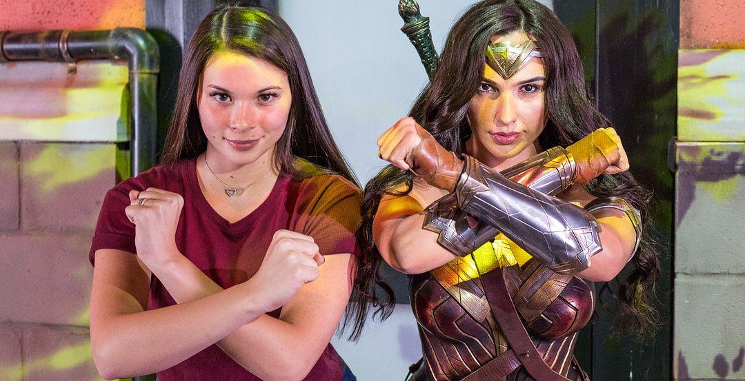 Gal Gadot as Wonder Woman at Madame Tussauds Orlando (© DC Entertainment)