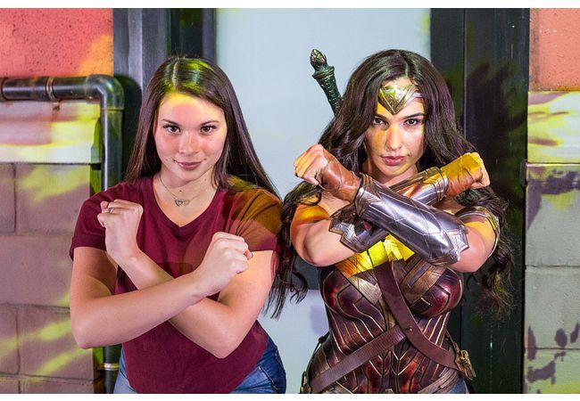 Gal Gadot as Wonder Woman at Madame Tussauds Orlando