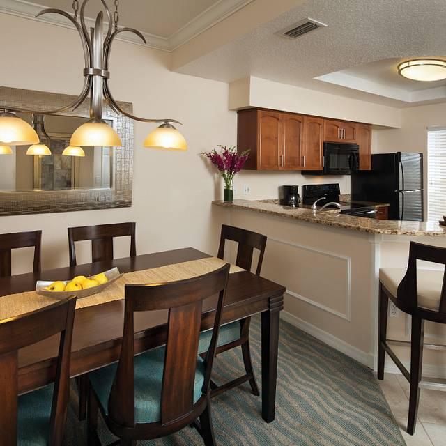 Kitchen And Dining Room At Sheraton Vistana Resort Villas
