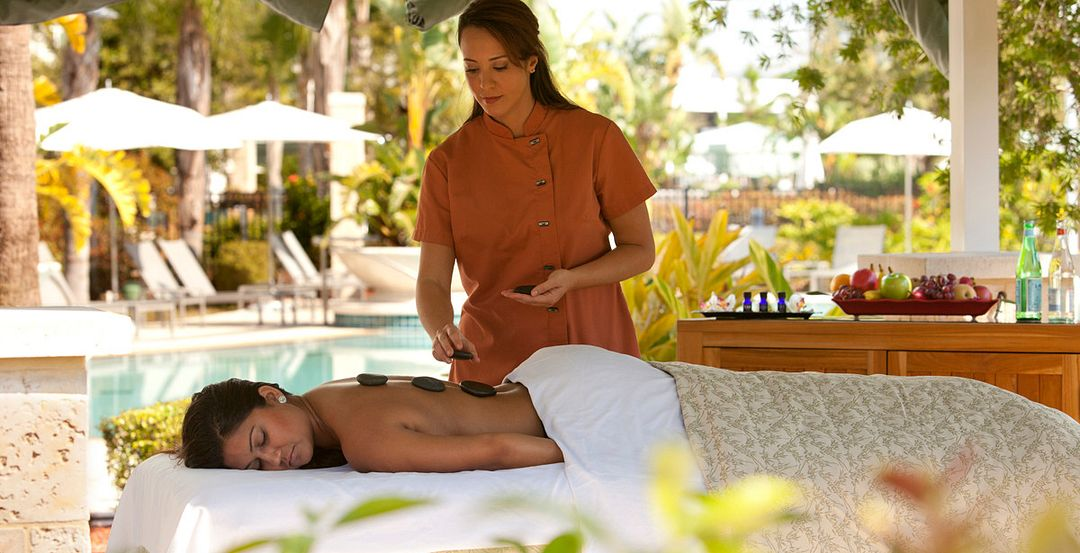 Hot Stone Massage at Eforea Spa at Hilton Orlando