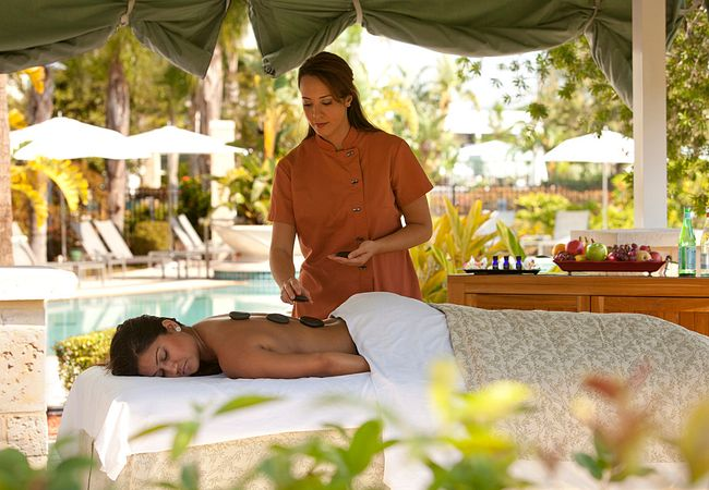 Hot Stone Massage at Eforea Spa at Hilton Orlando