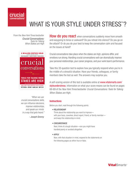 Style Under Stress