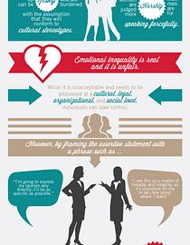 Assertive Women in Business Infographic
