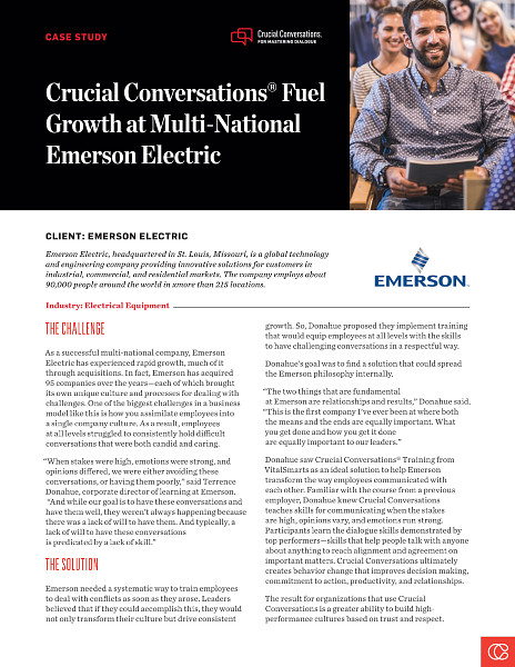 Emerson Success Story