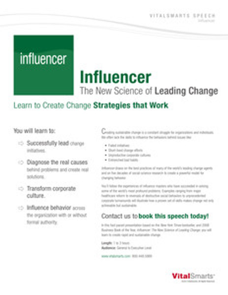 Influencer Speech