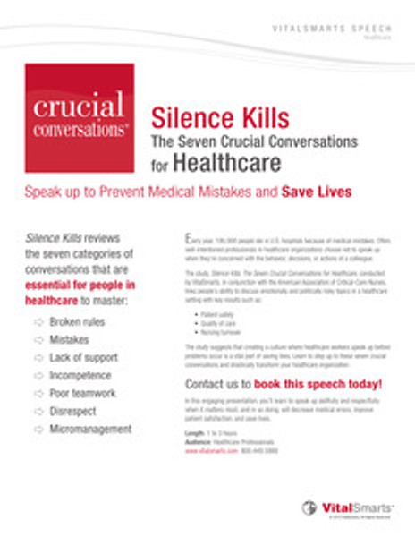 Silence Kills Speech
