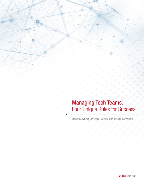 Managing Tech Teams