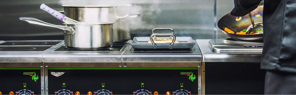 Cooking induction ranges