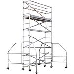4102-12 Narrow Span 12 ft H x 8 ft L Platform Scaffold Tower