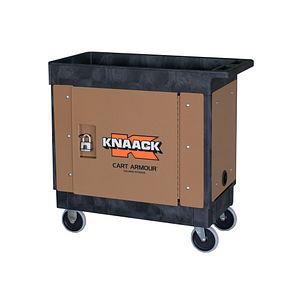 kna CA-02 KNAACK CA-02 Armour Mobile Cart Security Paneling Fits Rubbermaid Cart #640-9T66