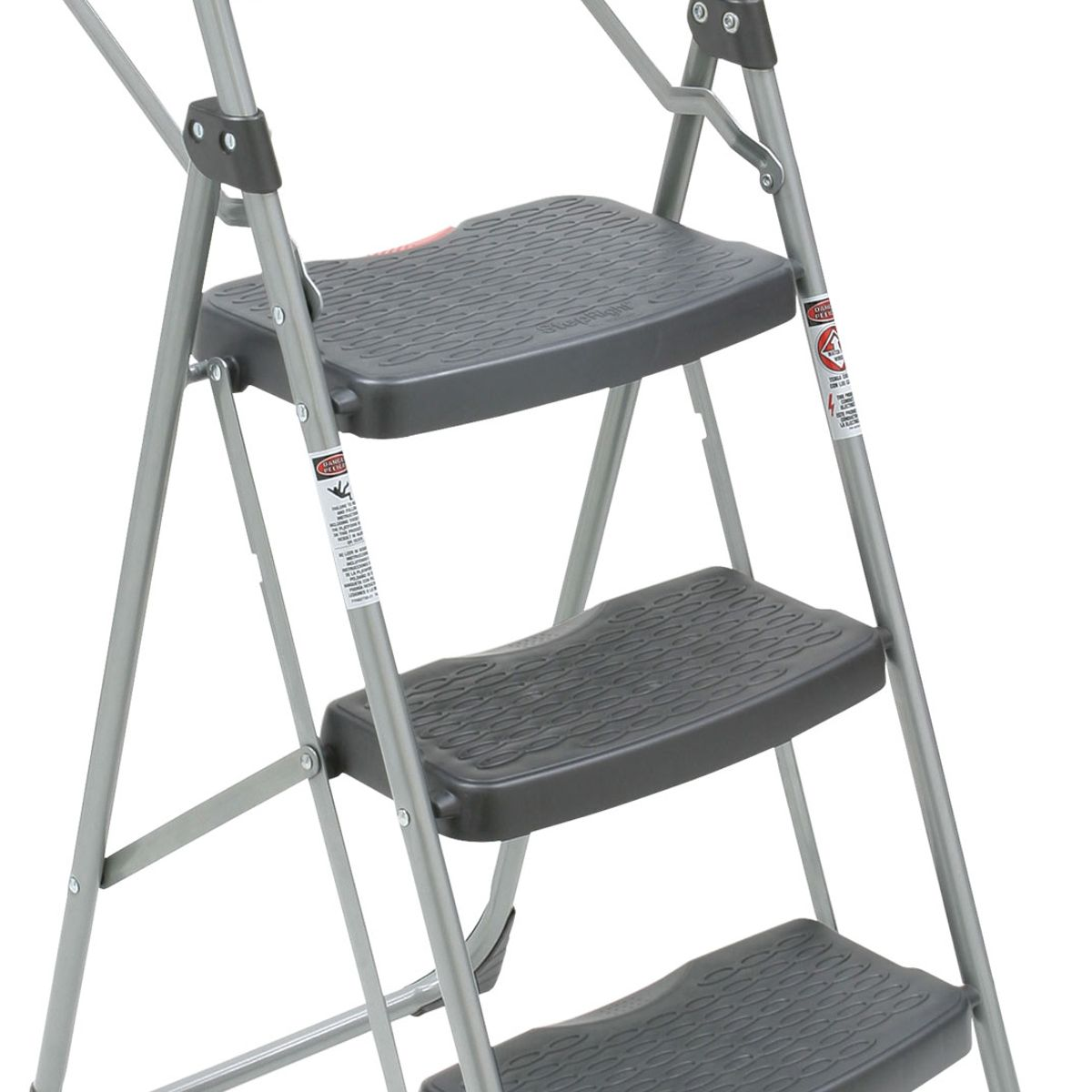 223T-6 ...  sc 1 st  Werner Ladder & 223T-6 3-Step Type II Black and Silver Step Stool with Utility Tray islam-shia.org