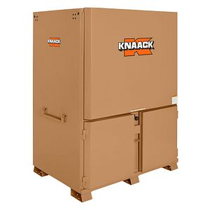 kna 119-01 KNAACK 60HX44WX82D MOBILE FIELD STATION 120.7 CU FT