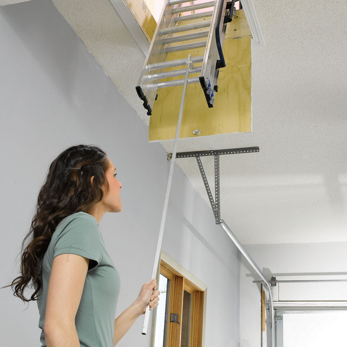... AA1510CA Attic Ladders - Werner CA ...  sc 1 st  Werner Ladder & AA1510CA | Attic Ladders | Werner CA