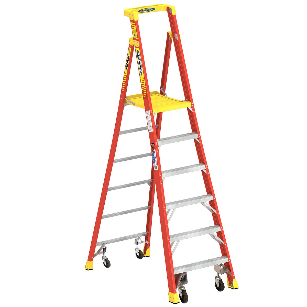 Pd6206 4c Step Ladders Werner Us