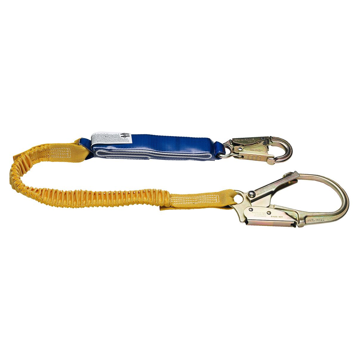6FT DECOIL STRETCH SINGLE LEG LANYARD (DCELL SHOCK PACK,