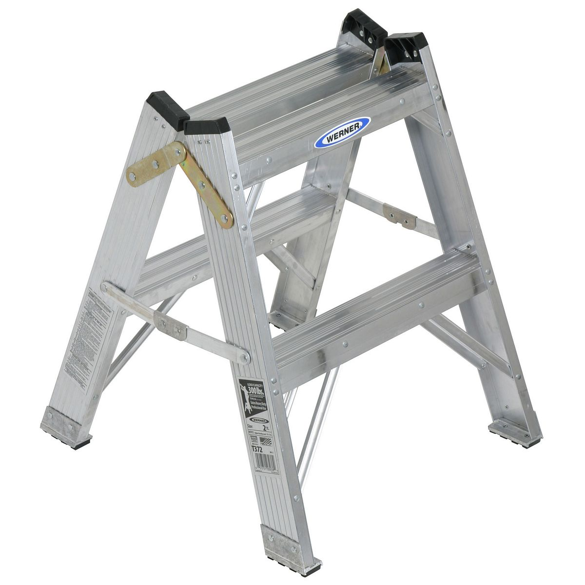 T372mx escaleras de tijera werner mx for Escalera aluminio pequena