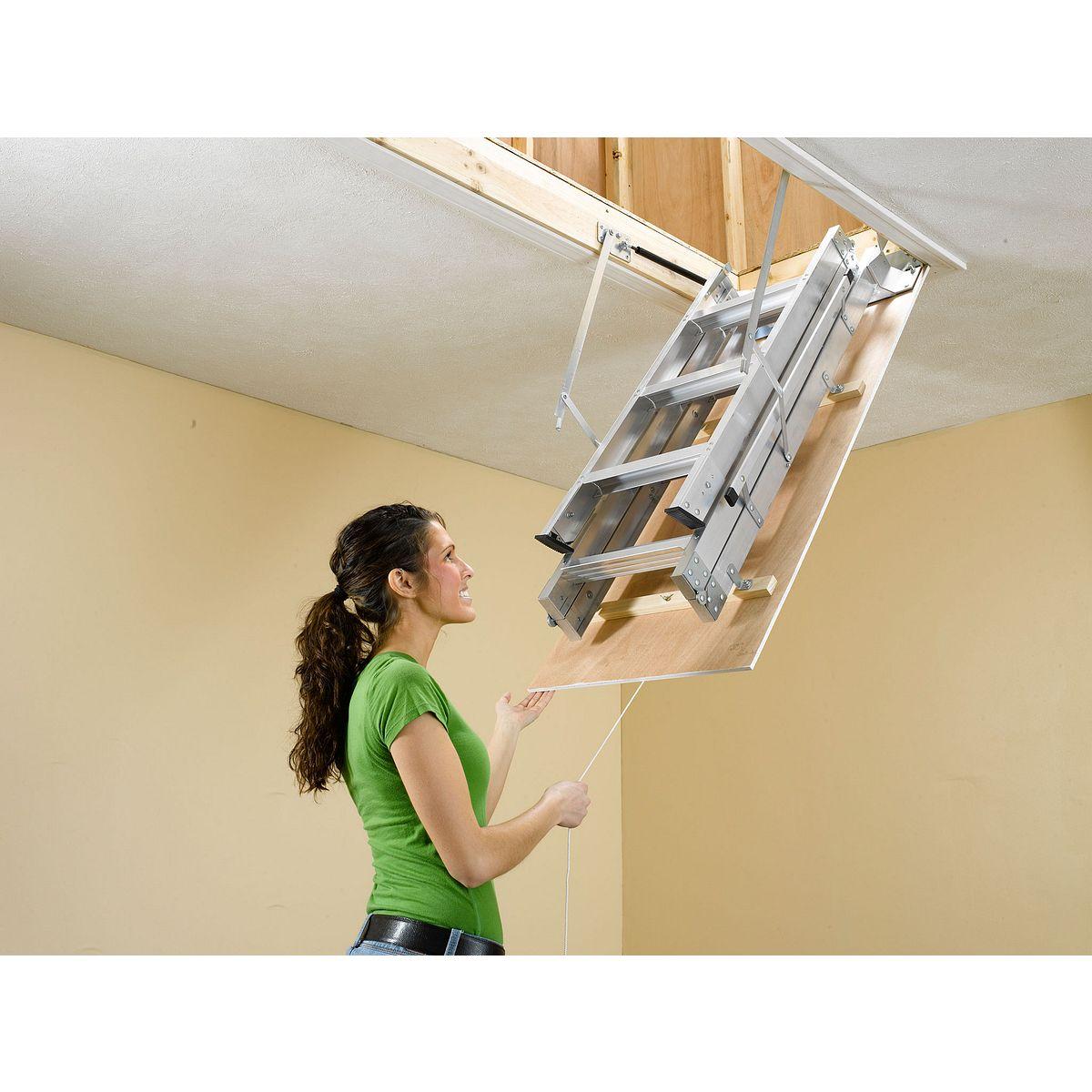 ah2210 attic ladders werner us - Werner Attic Stairs