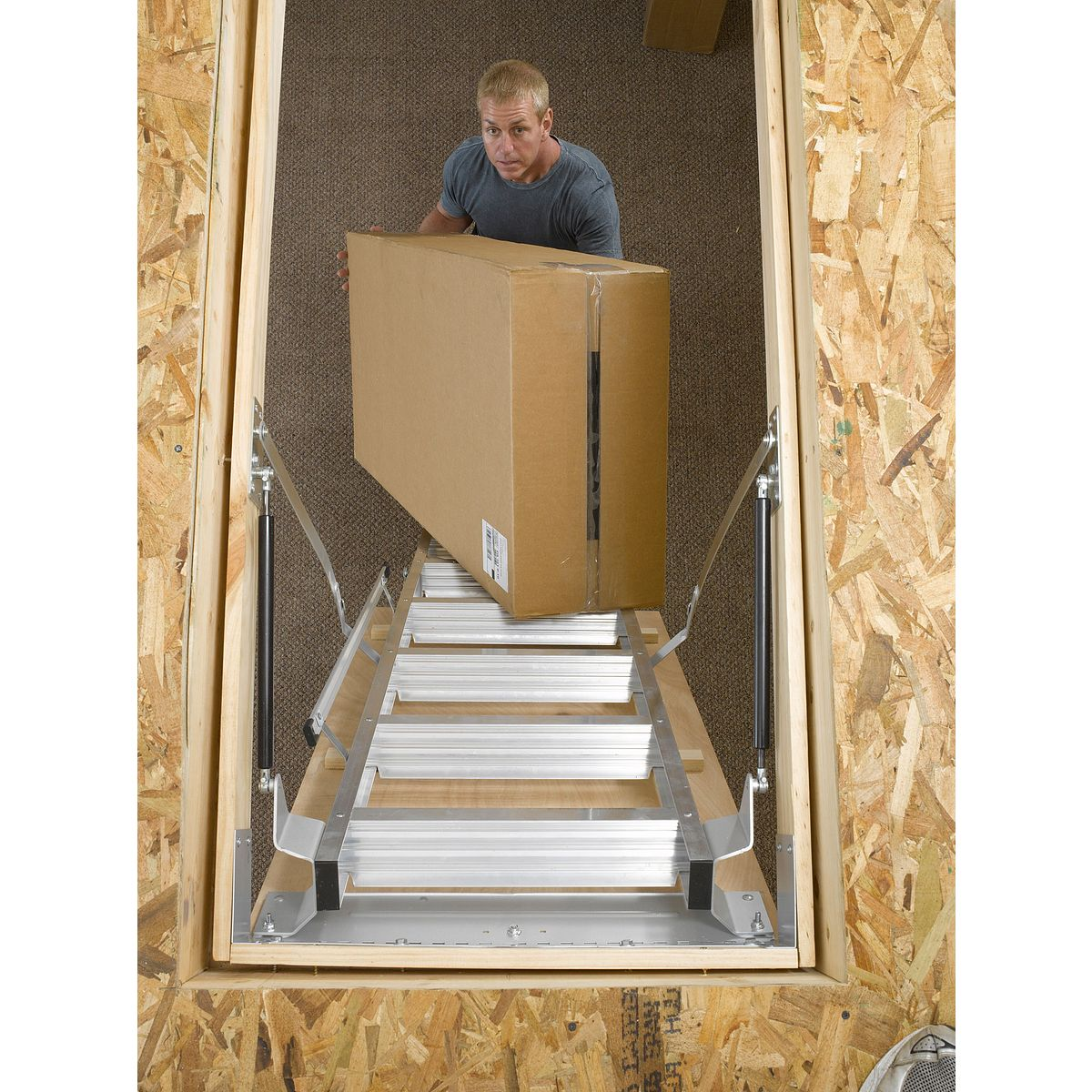 Attic Ladder For 12ft Ceiling Image Balcony And Attic
