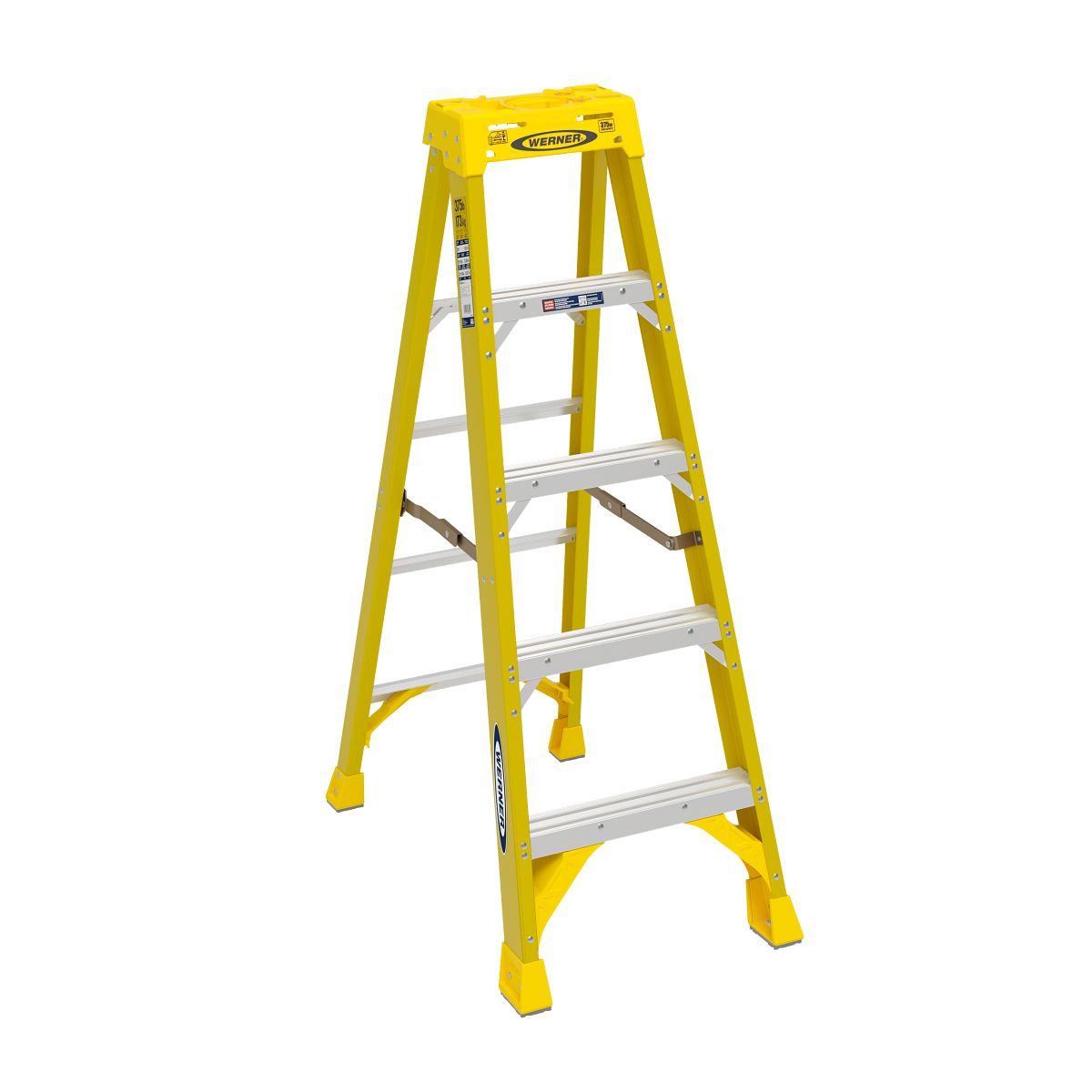 6305 step ladders werner us for Escalera tipo u