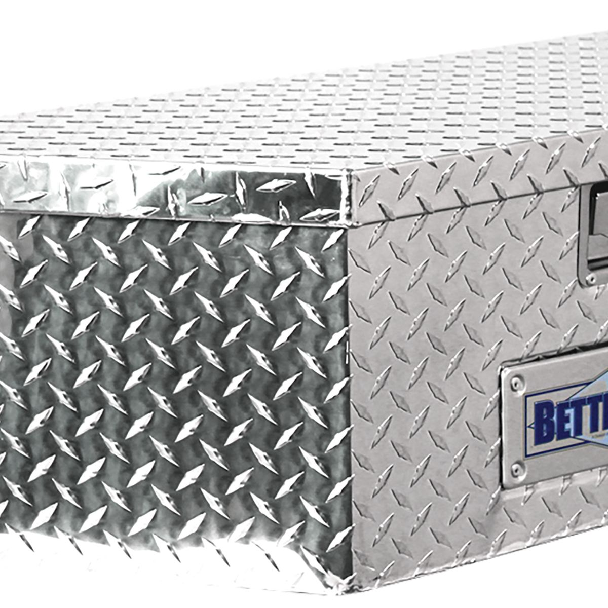 Black Better Built 66212322 Trailer Tongue Tool Box
