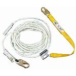 L242050 UpGear 50 ft 5/8 in Poly-dac Vertical Lifeline w/Lanyard