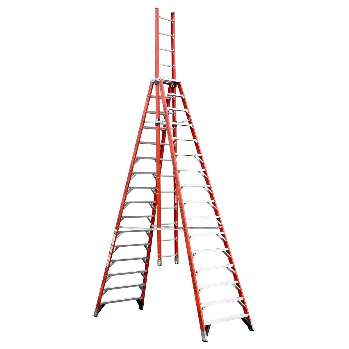e7416 - Wooden A Frame Ladder