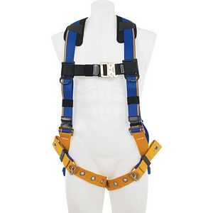 WFP H112004 WERNER FALL PROTECTION BLUEARMOR2 ST D HRNS-TB LGS(XL)