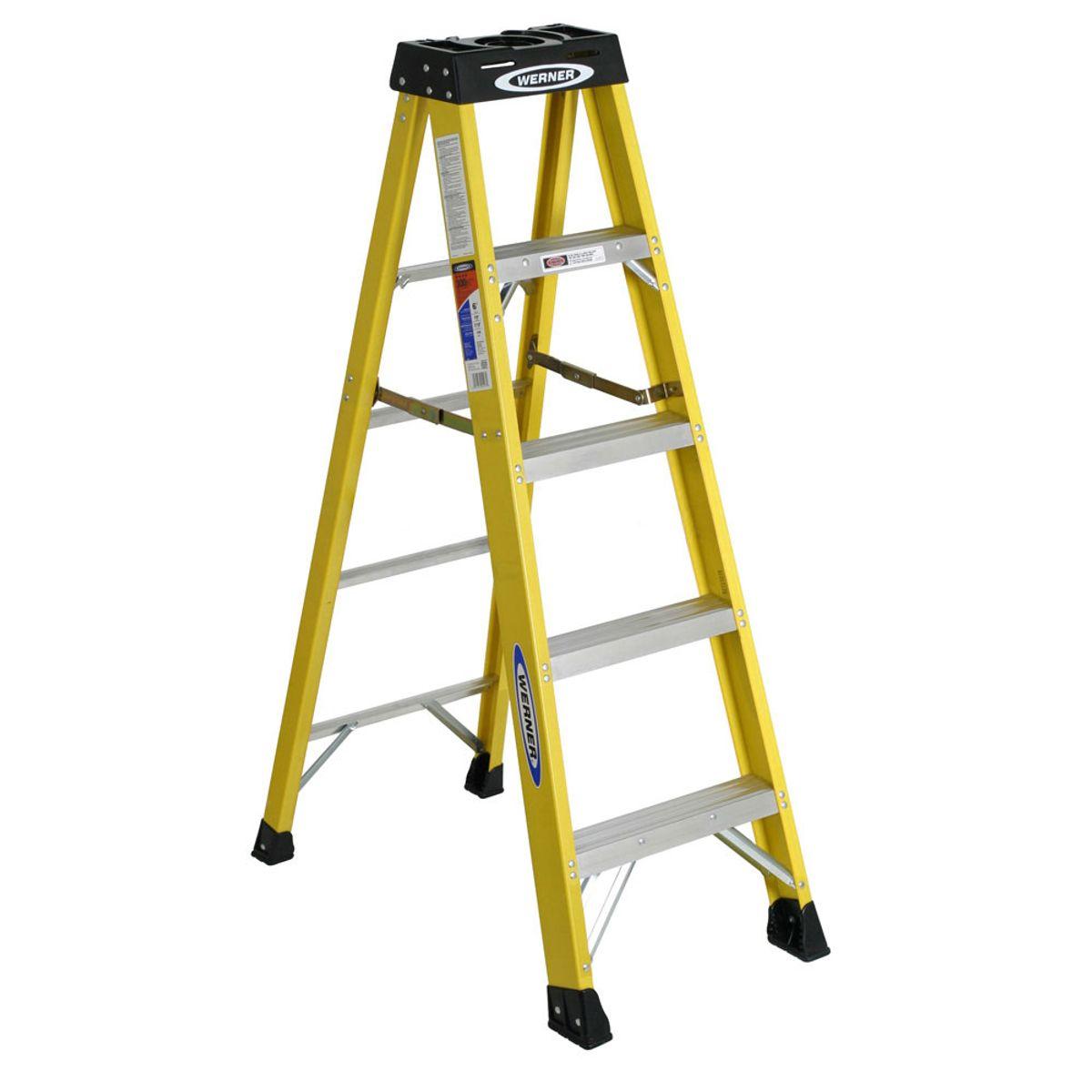 6105ca Step Ladders Werner Ca