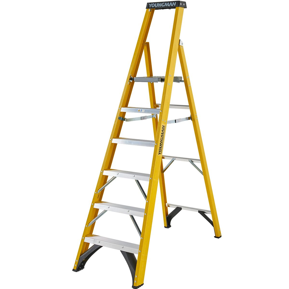 Heavy Duty Platform Stepladders 8 Tread