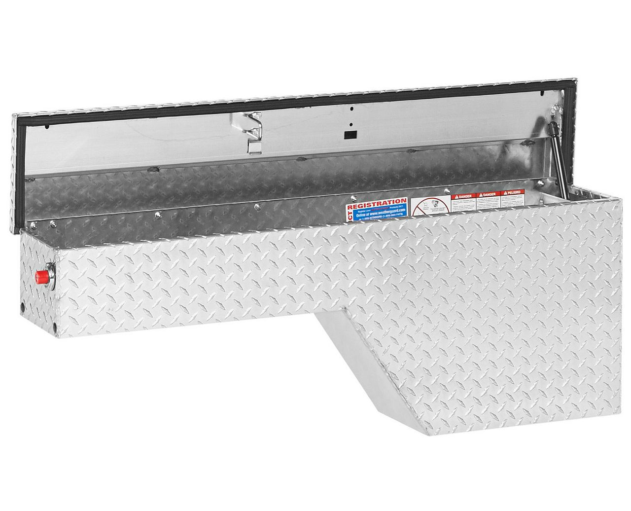 Weather Guard 170-0-01 Pork Chop Box, Aluminum, Driver Side
