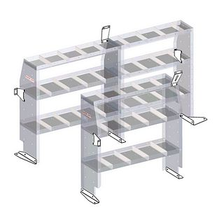 9753-3-01 Shelving - Weather Guard US