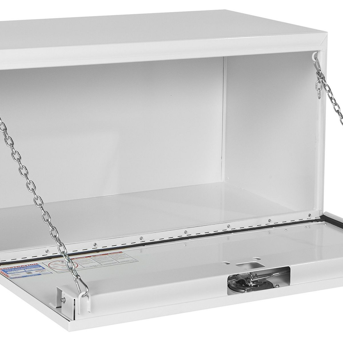 530502 Underbed Tool Box, Steel Weather Guard