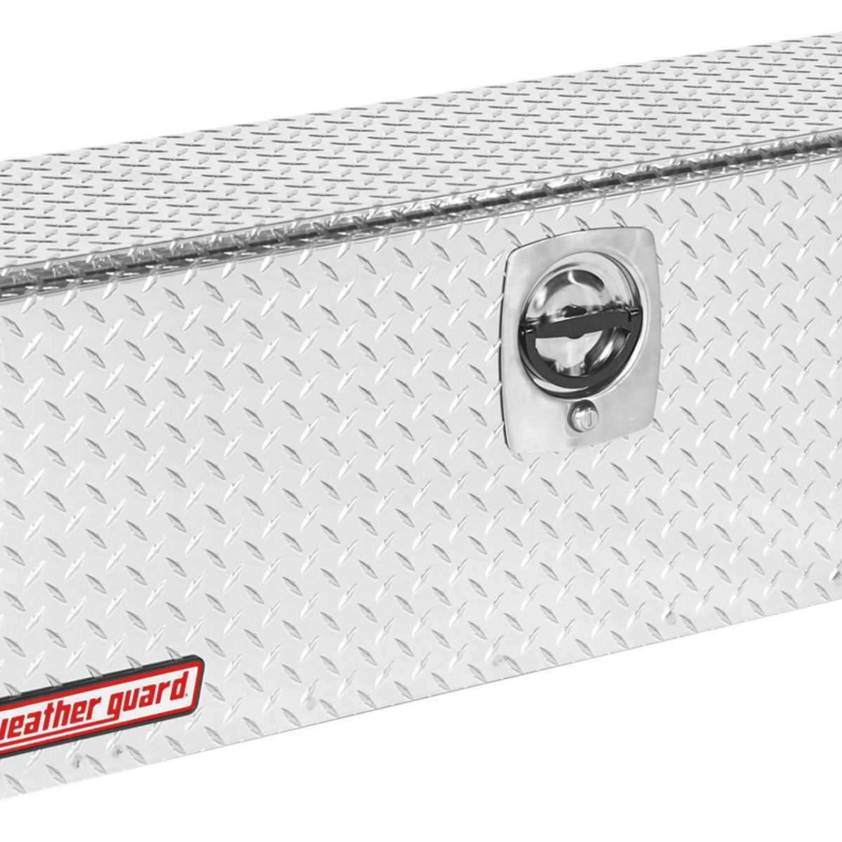 - 290-3-02 Aluminum Cover Topside Truck Box Weather Guard Steel Body ft 11.1 cu Double White