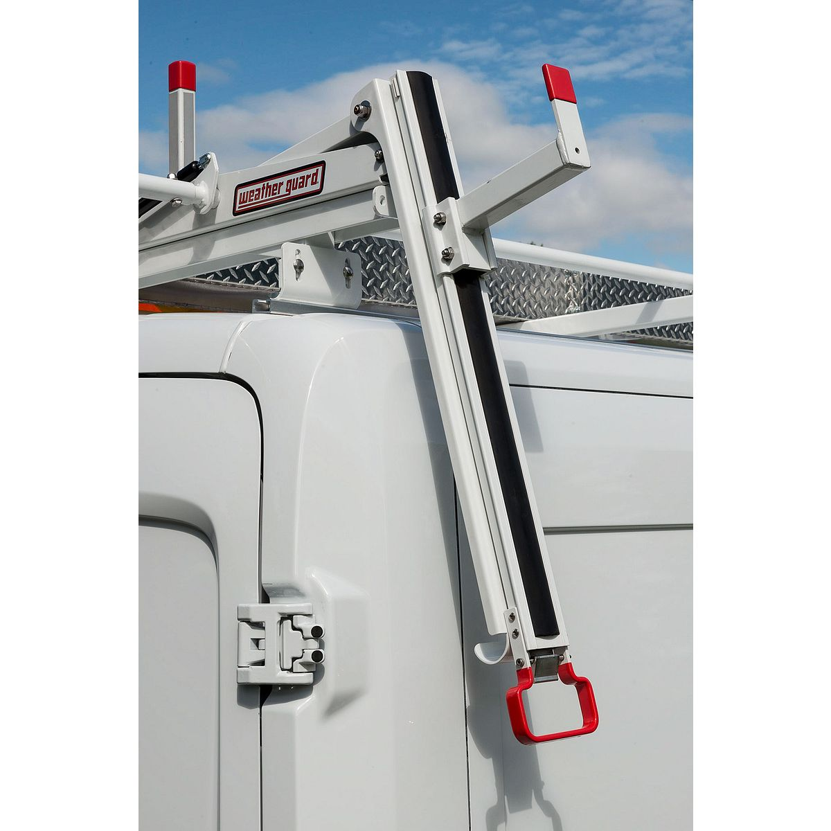 Model 2291 3 01 Ezglide2 Drop Down Ladder Rack Extended