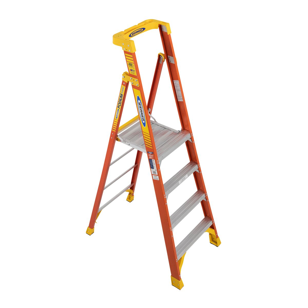 Groovy Pd6204Ca Step Ladders Werner Ca Beatyapartments Chair Design Images Beatyapartmentscom