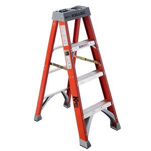 Stupendous Step Ladders Keller Ladder Evergreenethics Interior Chair Design Evergreenethicsorg
