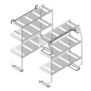 9754-3-01 Shelving - Weather Guard US