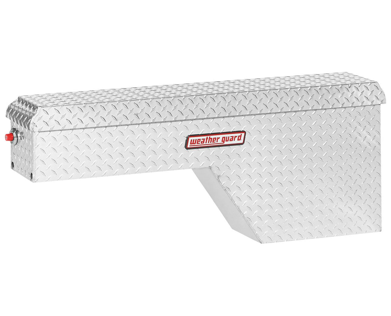 Weather Guard 171-0-01 Pork Chop Box, Aluminum, Passenger Side