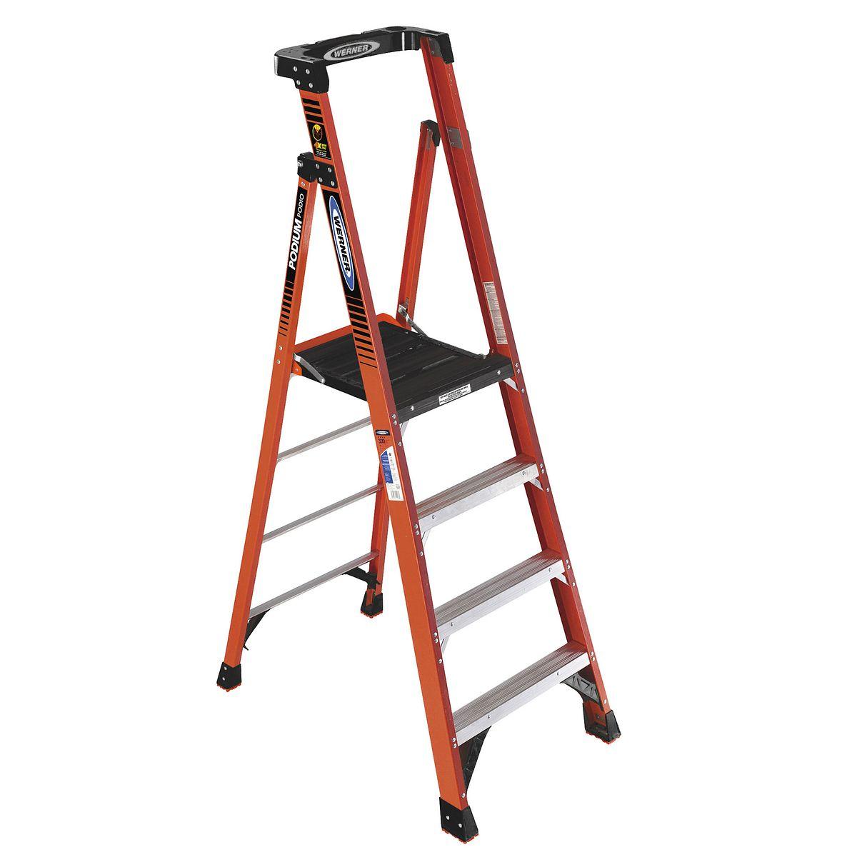 Pdia04ca Step Ladders Werner Ca
