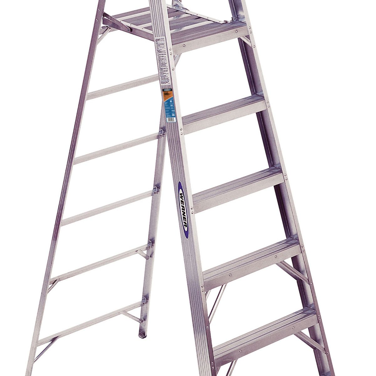 Step Ladders Lowes Werner 6ft Fiberglass Type 1a 300 Lbs